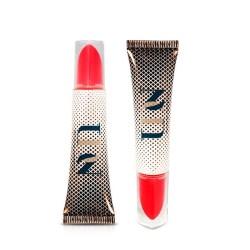 Delta Tube features a unique applicator shape mimicking a traditional lipstick bullet shape.